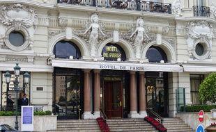 L'hôtel de Paris à Monaco (Archives)