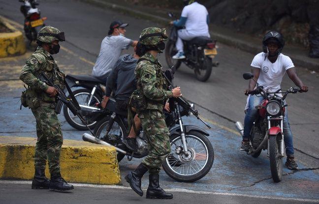 648x415 des militaires colombiens dans les rues de cali le 29 mai 2021