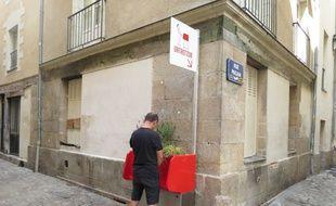 Un uritrottoir a été installé sur l'île Feydeau à Nantes