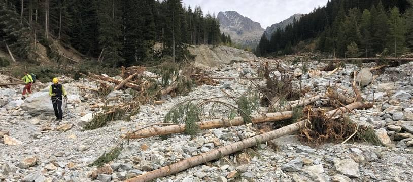 Les travaux de reconstruction ont commencé là où la neige a fondu
