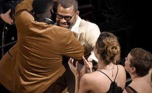Jordan Peele a remporté l'oscar du meilleur scénario original pour «Get Out», le 4 mars 2018.