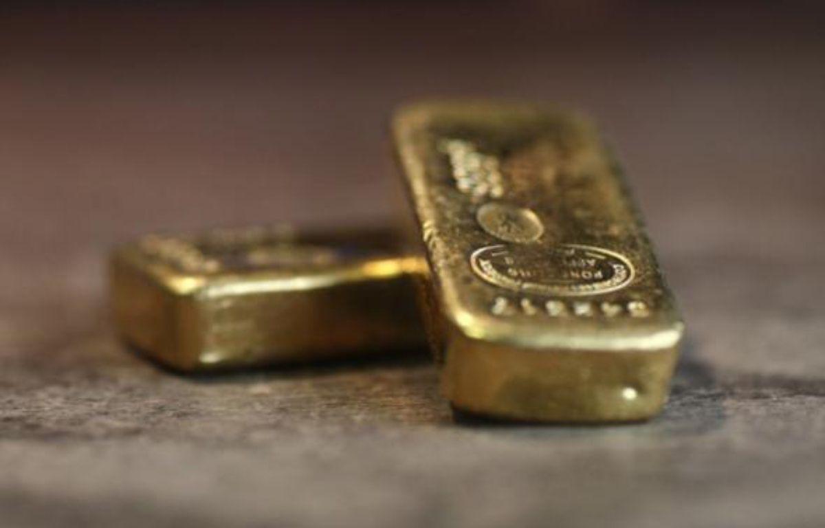 Des lingots d'or.  – THOMAS COEX / AFP