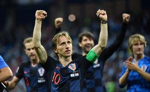 Modric et les Croates affrontent le Danemark en 8es.