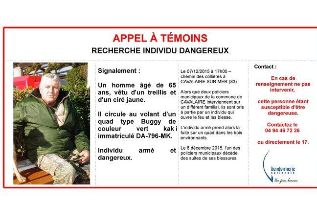 La gendarmerie nationale a diffusé un appel à témoins.