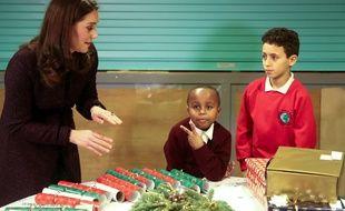 Yahya Hussein Ali, 7 ans a rencontré Kate Middleton le 12 décembre 2017.