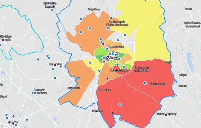 Montauban, les prix de l'immobilier selon le site meilleursagents.com.