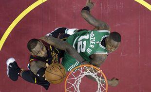 LeBron James face aux Celtics