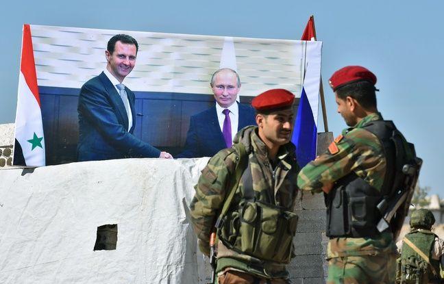 nouvel ordre mondial | Russie: Vladimir Poutine a rencontré Bachar al-Assad à Sotchi