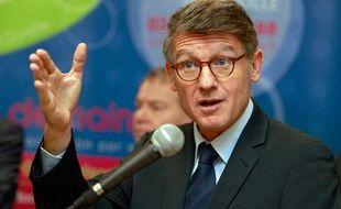 Vincent Peillon, ministre de l'Education nationale à Lille, le 15 novembre 2012.