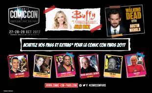 La 3e édition du Comic Con aura lieu du 27 au 29octobre 2017 à la Grande Halle de la Villette à Paris