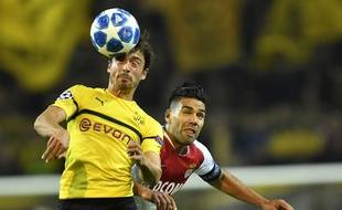 Falcao battu dans les duels, comme l'ASM sur la pelouse de Dortmund.