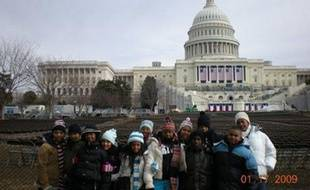Les 12 élèves de KIPP LA, à Washington