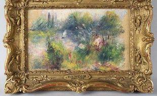 Le tableau «Paysage Bords de Seine» d'Auguste Renoir
