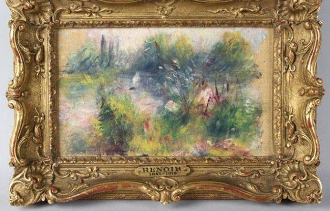 Etats-Unis: Elle achète un tableau de Renoir pour 5 euros