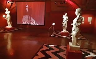 La salle Twin Peaks de l'Open museum du Palais des Beaux-Arts.