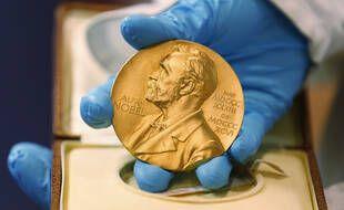 La médaille du prix Nobel.
