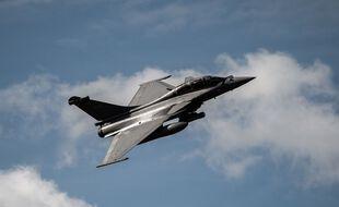 Dassault RAFALE B. Journee de pesentation des moyens et des missions de l armee de l Air et de l Espace, le 15 octobre 2020, sur la base aerienne 105 (BA105) d Evreux-Fauville