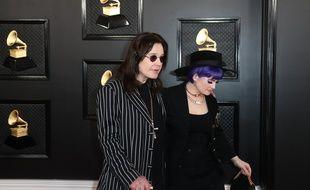 Kelly Osbourne et son père, le chanteur Ozzy Osbourne