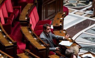 Le ministre de l'Intérieur, Christophe Castaner, à l'Assemblée nationale.