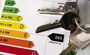 La fameuse évaluation thermiques des bâtiments, la DPE. (illustration)