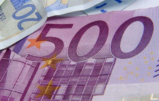 Les billets de 500euros vont peu à peu disparaître à partir de janvier2019
