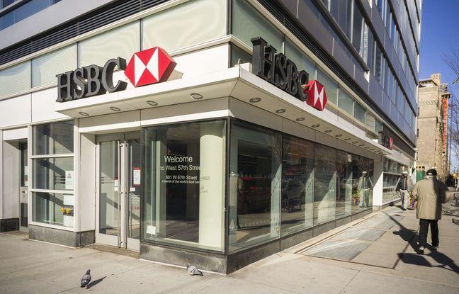 Illustration d'une banque HSBC