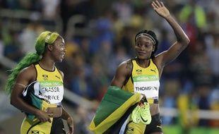 Les deux stars jamaïcaines font partie du relais de leur pays.
