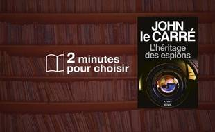 «L'héritage des espions» par John Le Carré au Seuil (320 p., 22€).