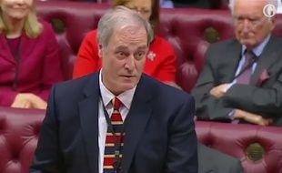 Michael Bates, ministre du Développement International, présente sa démission le 2 février 2018.