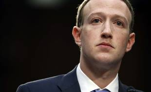 Mark Zuckerberg le 10 avril 2018 à Washington.
