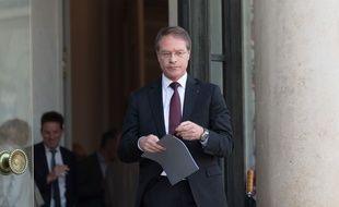 Le président de la CPME François Asselin à l'Elysée, le 27 novembre 2018.