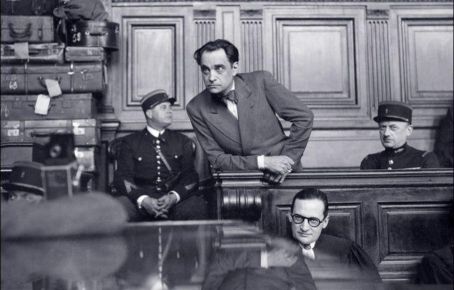 Le Dr Petiot, lors de son procès en 1946