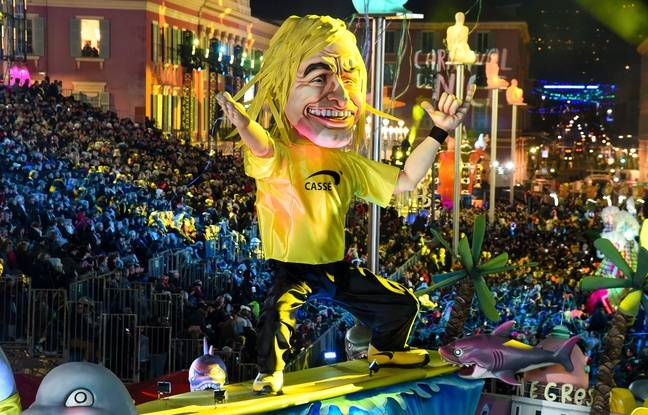 Sur Instagram, Jean Dujardin a dit tout le bien qu'il pensait de son double «Brice de Nice» du Carnaval de Nice.