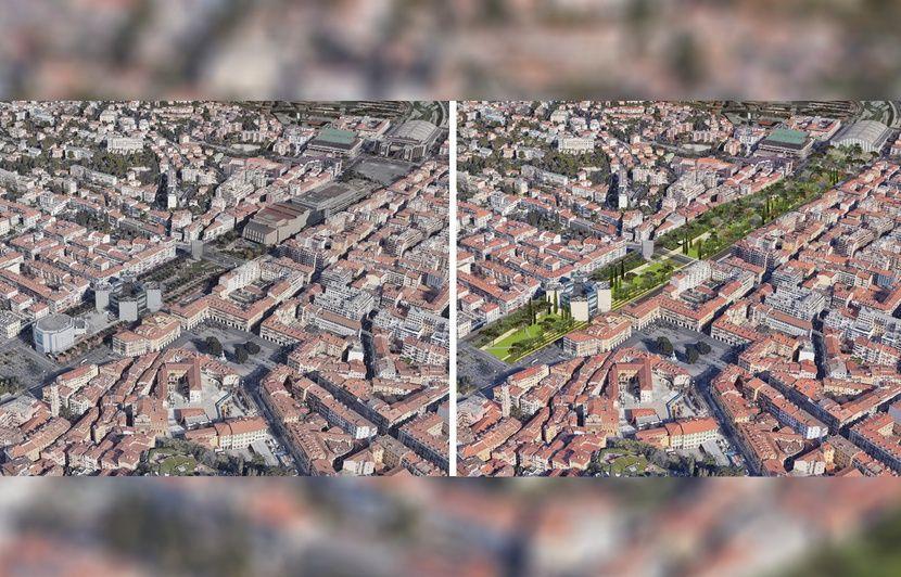 Municipales 2020 à Nice : Estrosi annonce vouloir raser le théâtre et le palais Acropolis