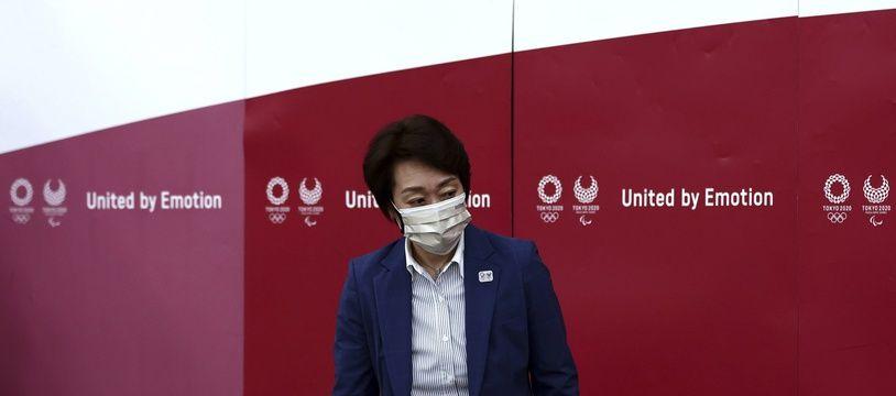 Seiko Hashimoto, la présidente du comité d'organisation des JO de Tokyo.