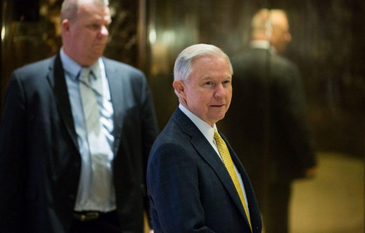 Le sénateur de l'Alabama Jeff Sessions – KEVIN HAGEN / GETTY IMAGES NORTH AMERICA / AFP