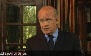 L'acteur américain et candidat à l'investiture républicaine Fred Thompson