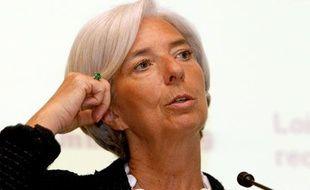 La ministre de l'Economie, Christine Lagarde, le 2 juin 2010 à Paris.