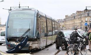 Accident de tramway mercredi 28 mars 2018, sur la ligne C