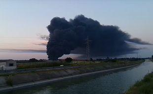 L'incendie de Mudaison (Hérault) le 12 juin 2015