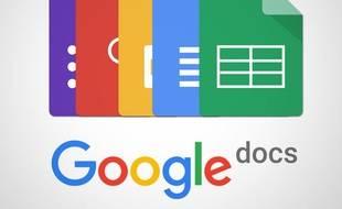Capture d'écran de l'application Google Docs