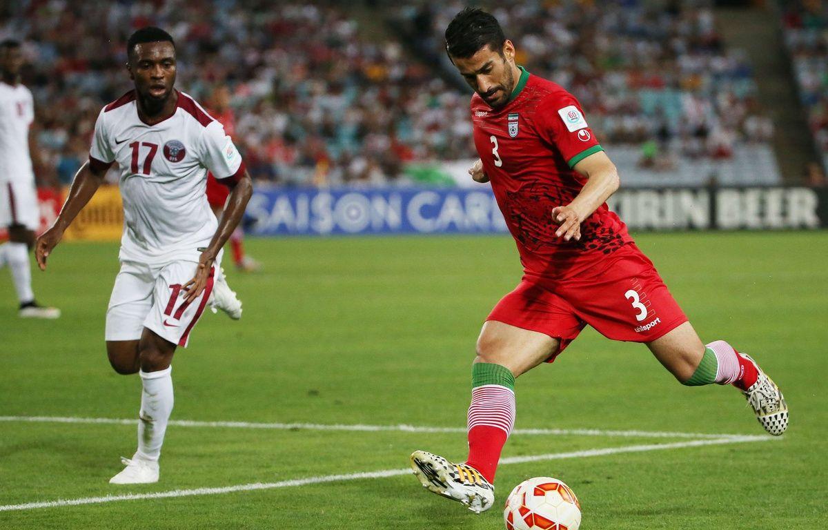 Ehsan Hajsafi le 15 janvier 2015 lors du match Qatar-Iran. – Rick Rycroft/AP/SIPA
