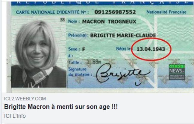 Brigitte Macron : quel âge a-t-elle réellement ?