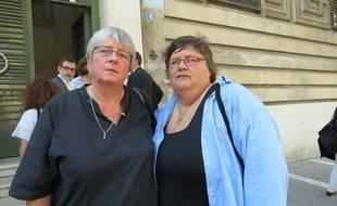 Hélène Burucoa et Claude Genart.