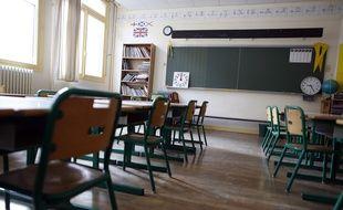 Une école parisienne, le 1er septembre 2014.