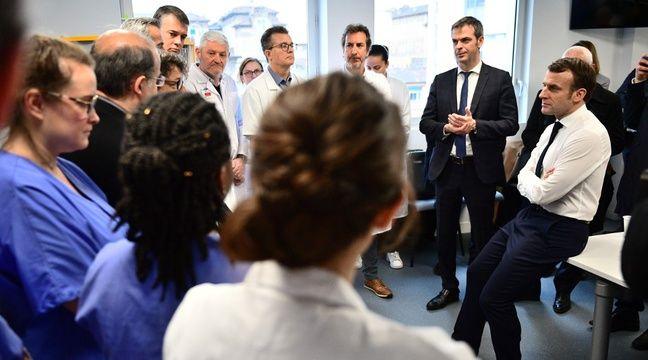 « Le virus circule déjà parmi nous », annonce un médecin à Macron