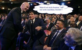 Maradona agace la Fifa.