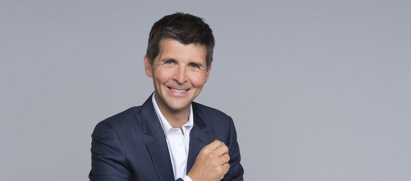 Le journaliste Thomas Sotto.
