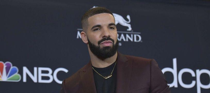 Le rappeur Drake à Las Vegas.