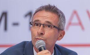 Stephane Troussel, président du Conseil départemental de la Seine-Saint-Denis, le 15 septembre 2016.